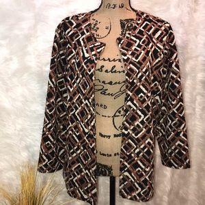 Jackets & Blazers - Alfred Dunner Ladies Blazer
